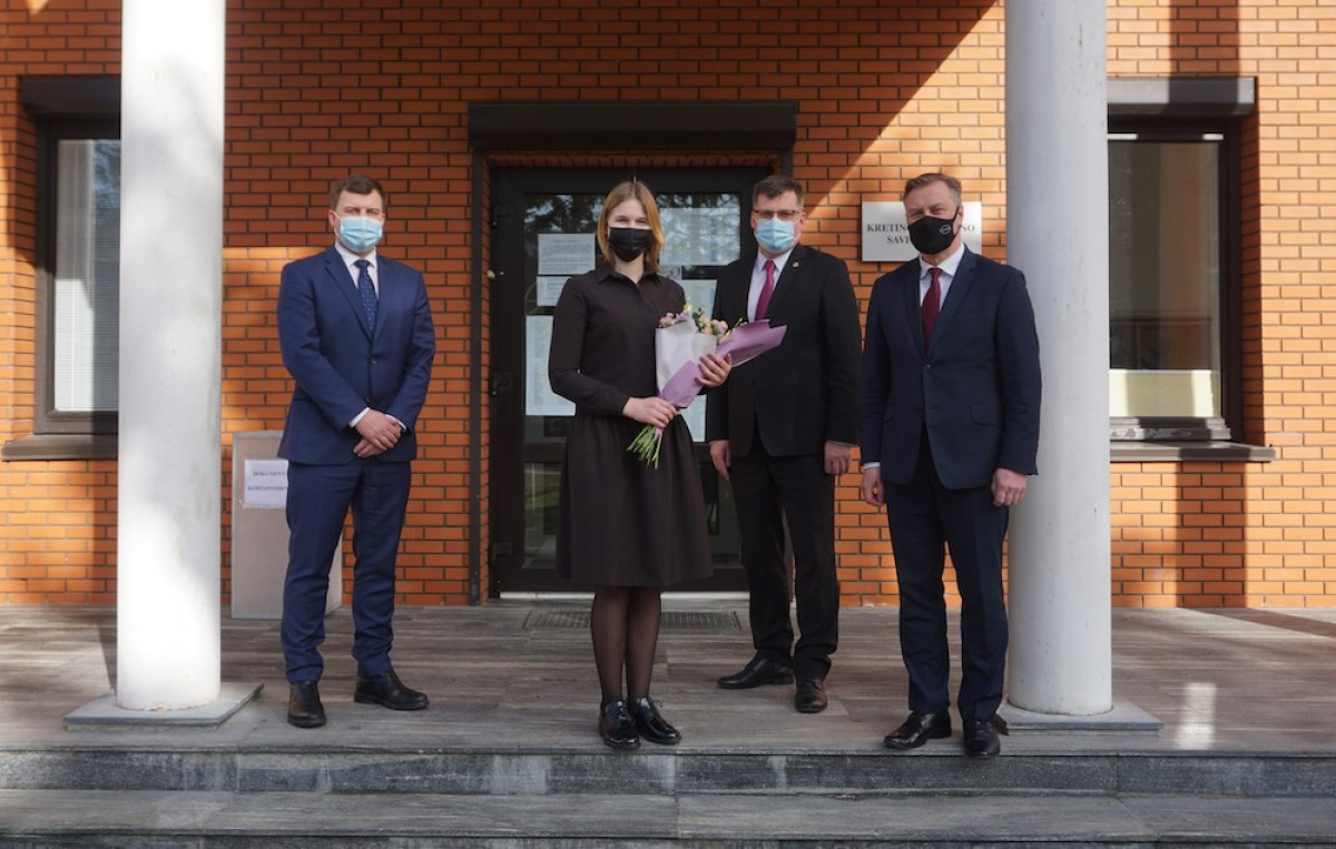 Kretingos rajono savivaldybė turi naują administracijos direktoriaus pavaduotoją