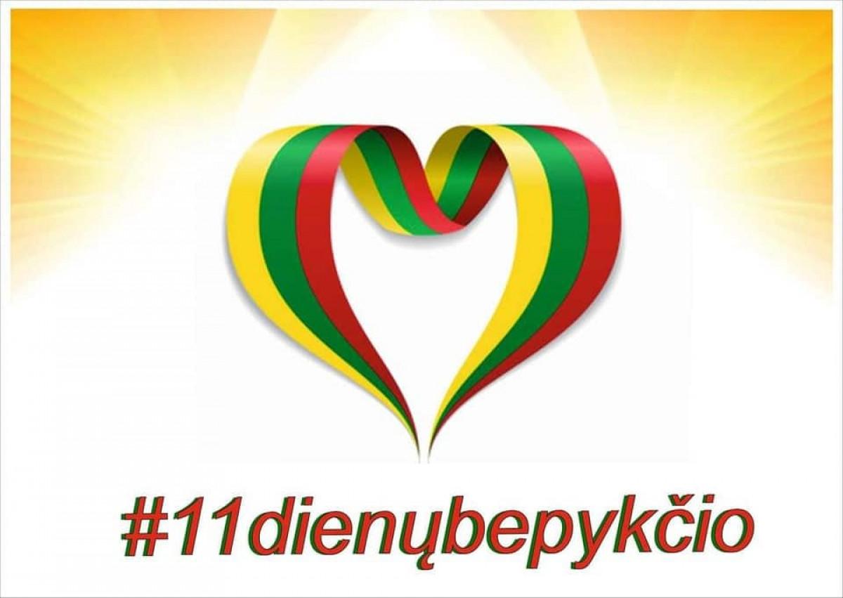 """Pasitinkant Kovo 11-ąją kviečia jungtis prie visuotinės iniciatyvos """"11 dienų be pykčio"""""""