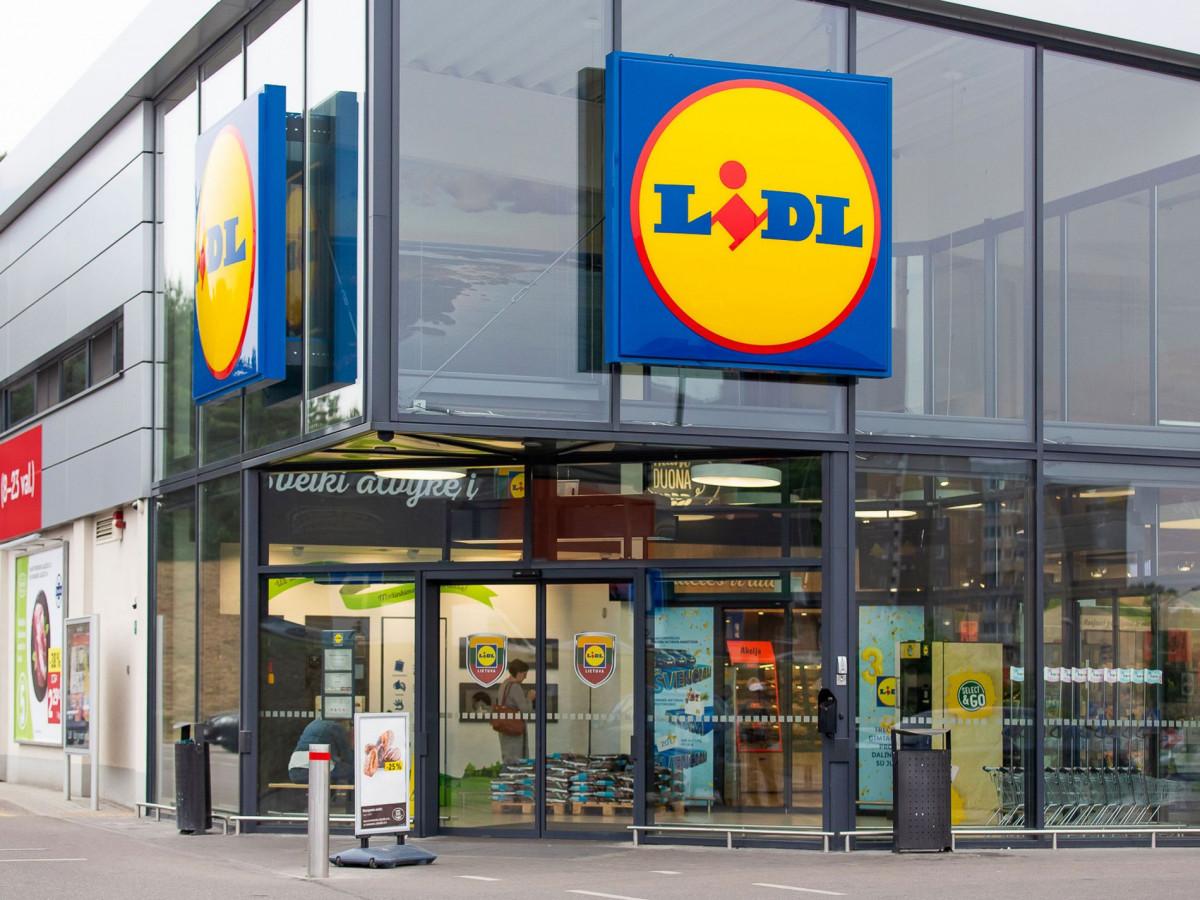 """55-oji """"Lidl"""" tinklo parduotuvė atvėrė duris Klaipėdoje"""