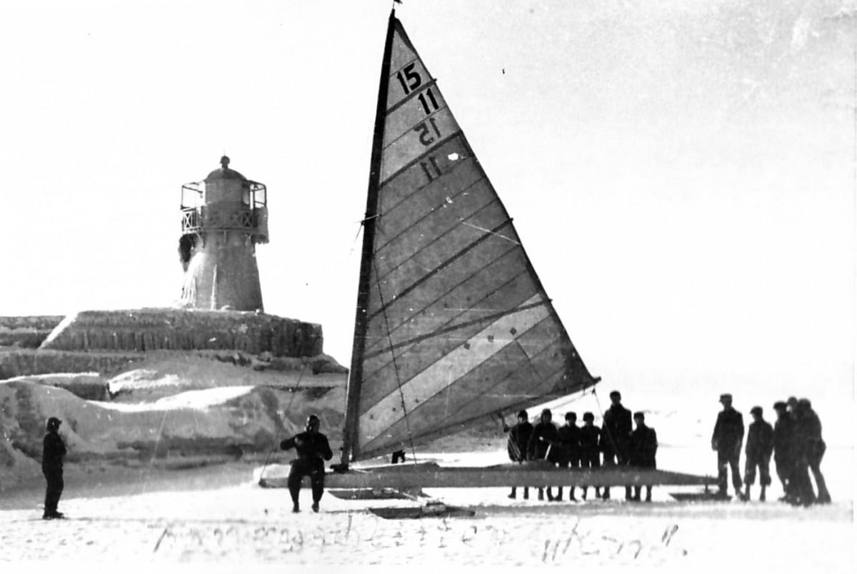 W. Köhleris – Klaipėdos buriavimo ledrogėmis legenda (iš Sportininkų namų-muziejaus archyvo)