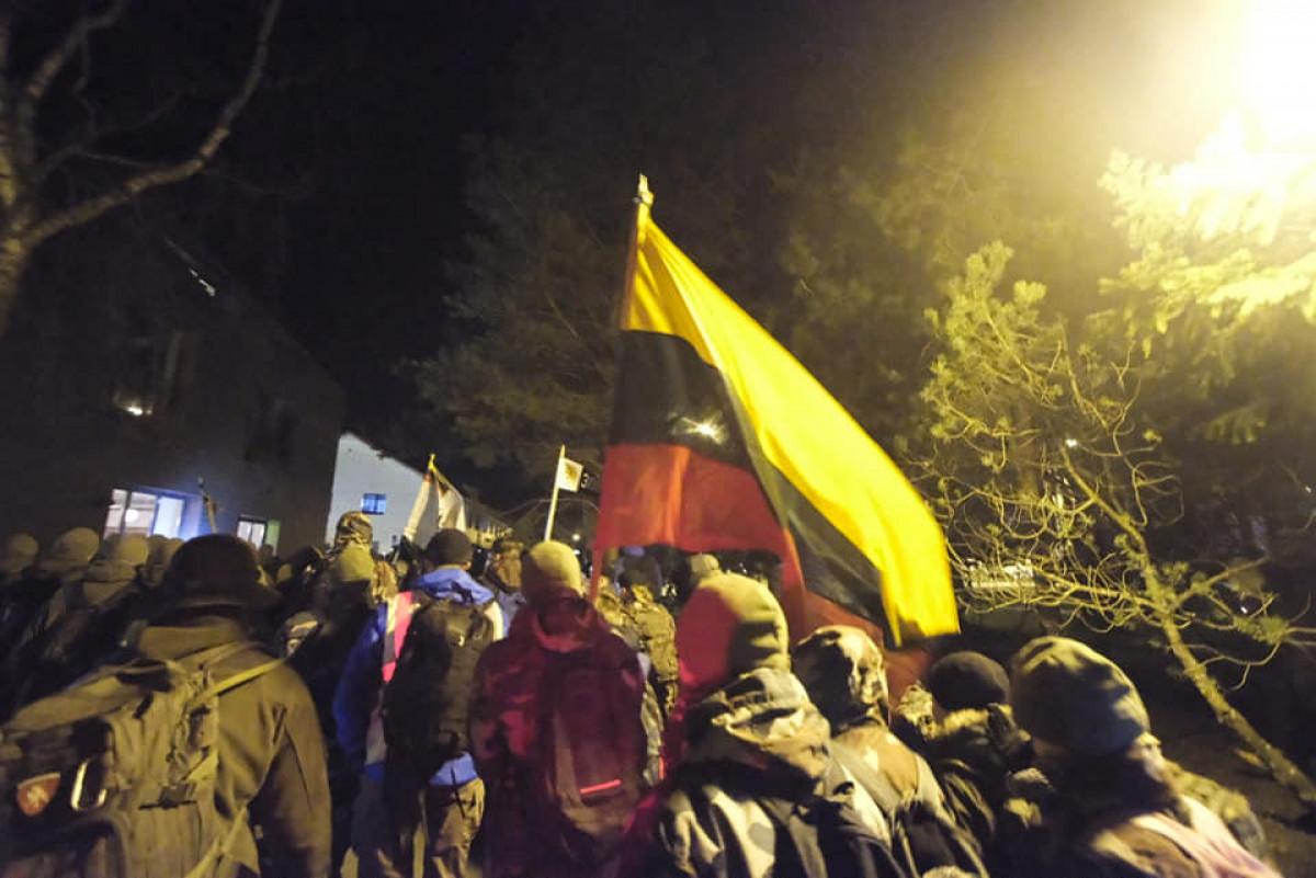 """2021-ųjų metų naktinis pėsčiųjų žygis """"Klaipėdos sukilėlių keliais"""" (MARŠRUTAS IR ŽEMĖLAPIS)"""