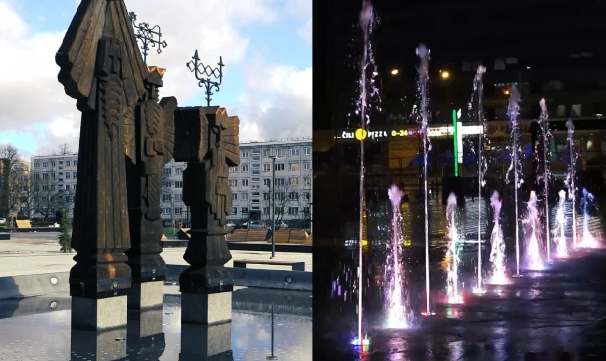 """Rekonstruota """"Vaidilos"""" aikštė atveriama miestiečiams"""