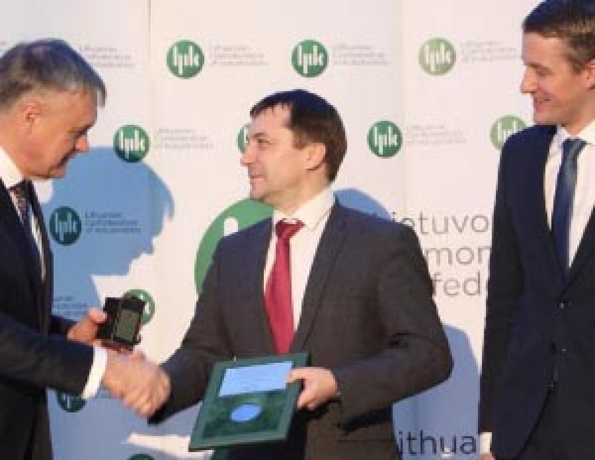Lietuvos metų gaminio medaliai keliauja į Klaipėdos uostą