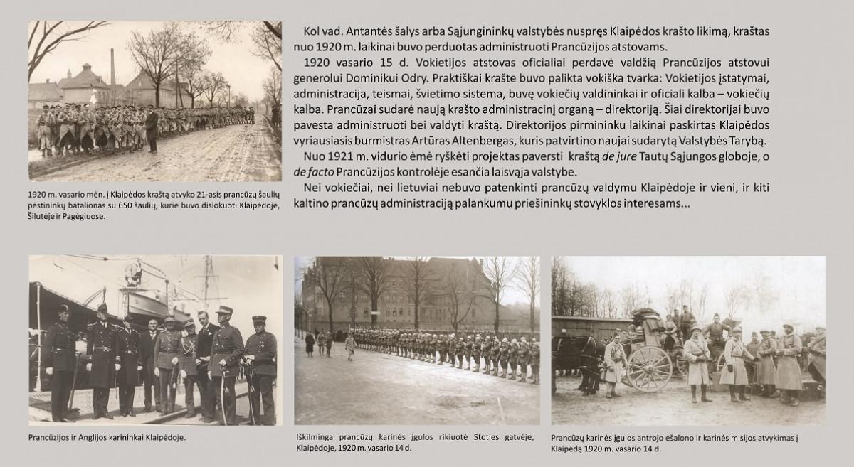 """Virtuali paroda """"1923 m. sausio mėnesio įvykiai Klaipėdos krašte"""""""