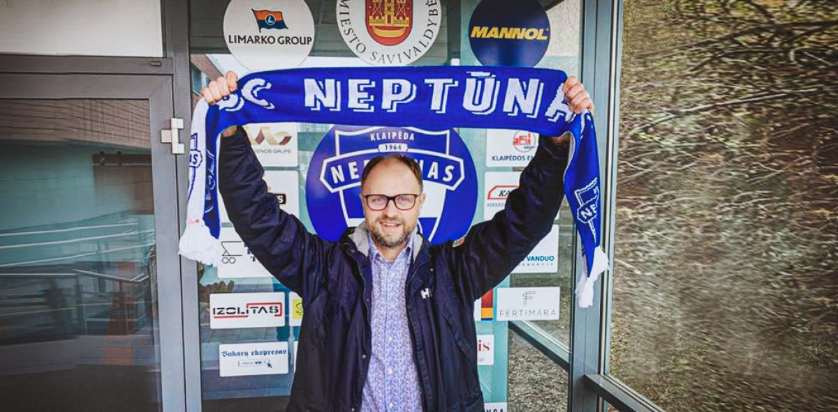 """Naujasis """"Neptūno"""" direktorius: """"Aš tikiuosi atiduoti dalelę savęs klubui, miestui ir fanams"""""""