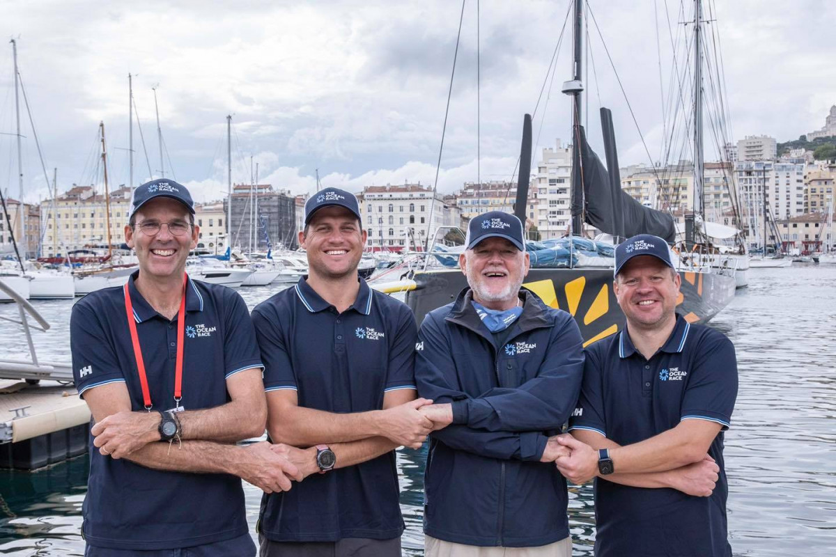 """""""Ambersail-2"""" tęsia pasaulinę tvarumo misiją: drauge su """"The Ocean Rac"""" dalyvauja svarbioje aplinkosaugos konferencijoje"""