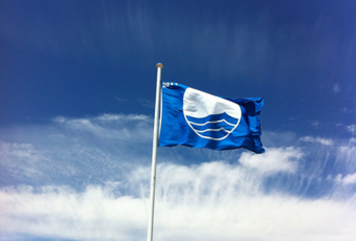 Palangos Birutės parko paplūdimyje ir vėl plevėsuos Mėlynoji vėliava