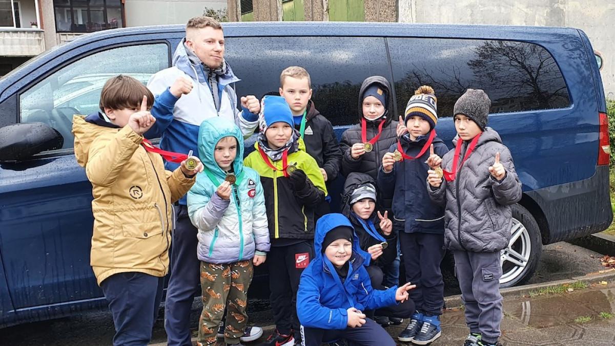 """Klaipėdos kovos menų mokyklos """"Avangard"""" auklėtiniai iškovojo 9 medalius"""