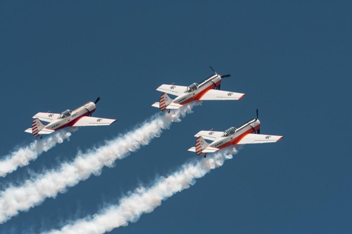 Akrobatinių skrydžių grupė ANBO atliks įspūdingą pasirodymą virš Palangos tilto