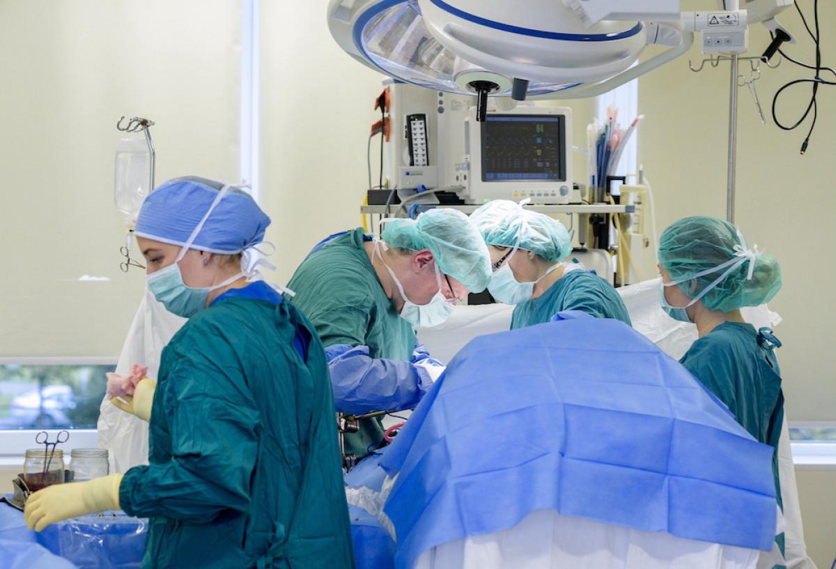 Klaipėdos universitetinės ligoninės medikai pacientui grąžino visavertį gyvenimą