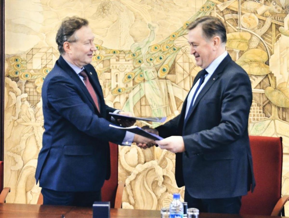 Naujoji Klaipėdos universiteto sutartis