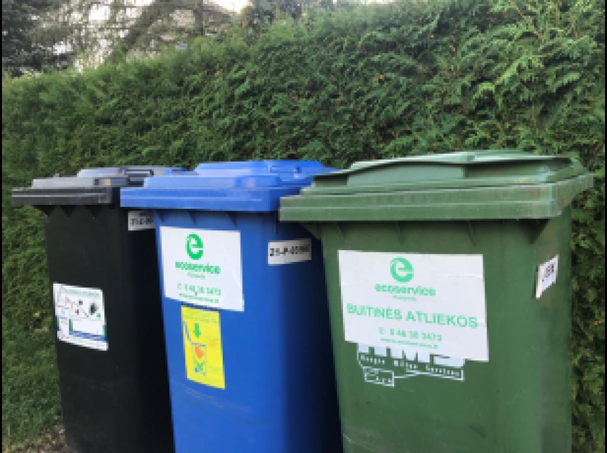 Naujos taisyklės kaip tvarkyti atliekas koronaviruso karantino metu
