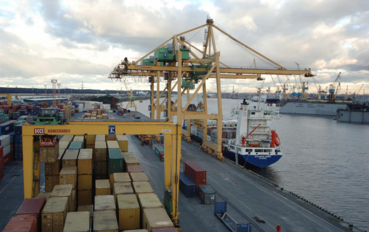 Klaipėdos uostas išlieka svarbi valstybės ekonomikos ašis