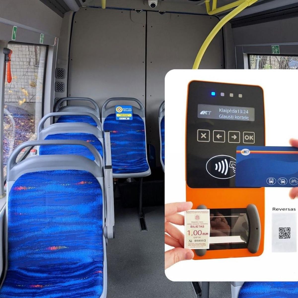 Maršrutiniu taksi į Palangą ir Kretingą – su QR kodo bilietais