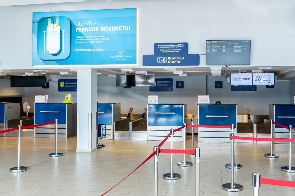 Palangos oro uoste prasidėjo pokyčiai infrastruktūros gerinimui
