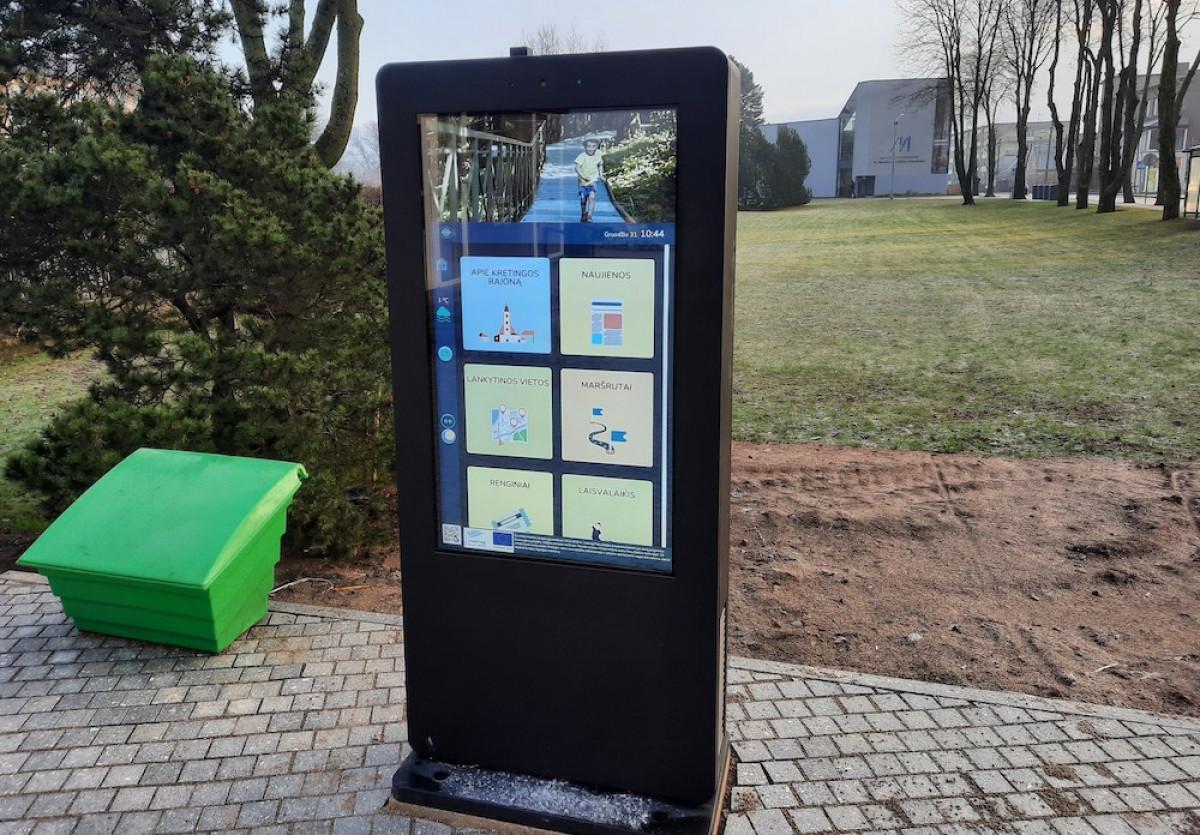 Naujam turizmo sezonui – interaktyvios priemonės Kretingoje