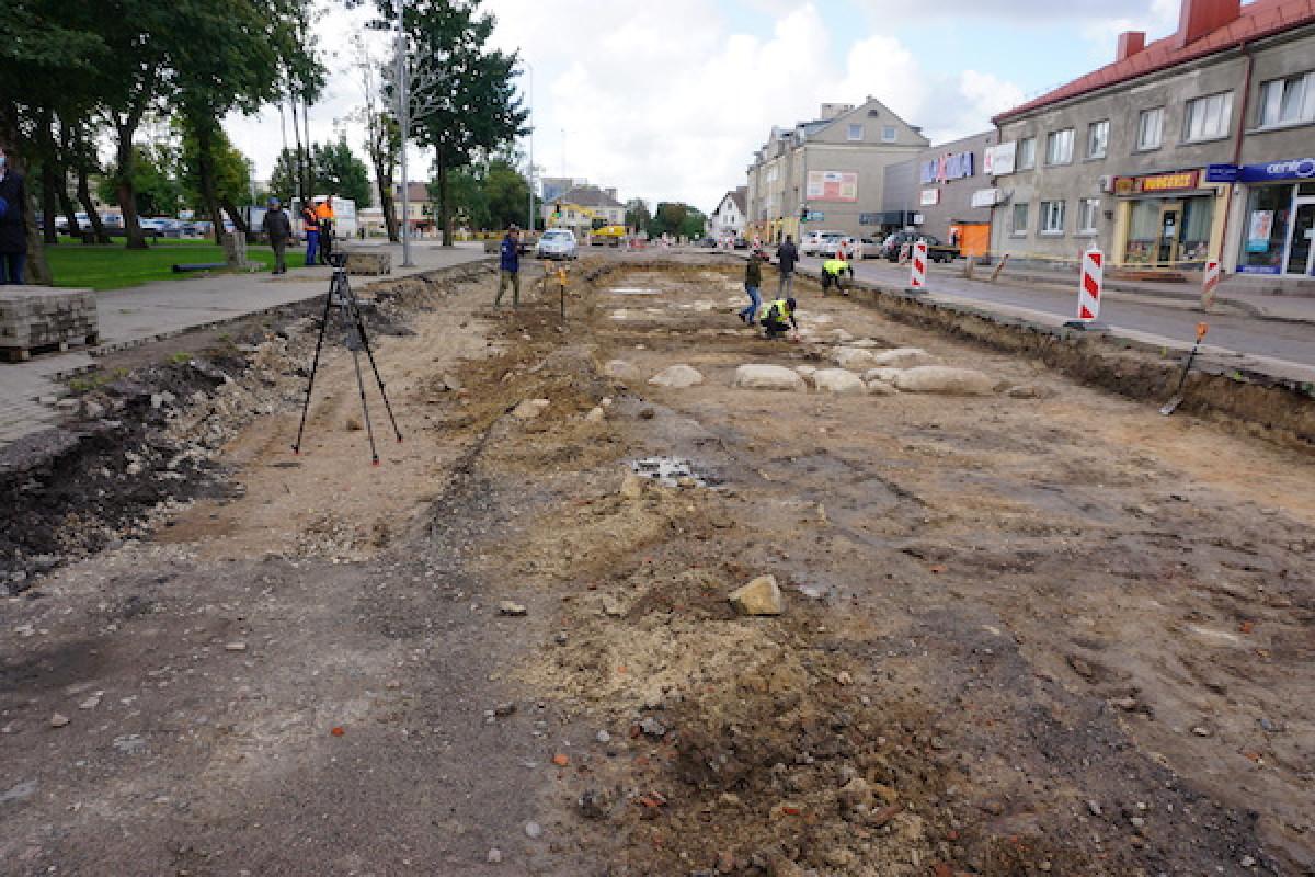 Kretingoje pradėti didžiausi miesto istorijoje detalieji archeologiniai tyrimai
