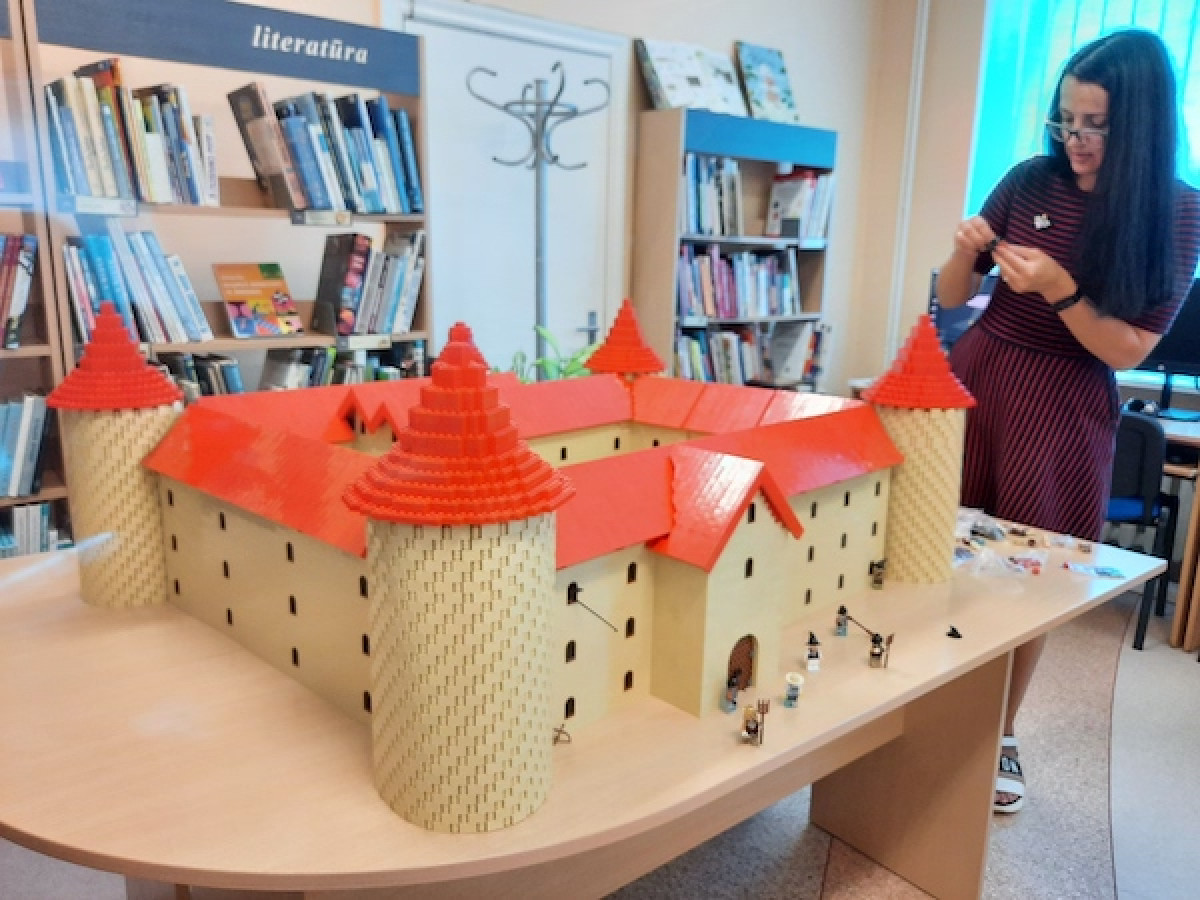 Nemokamas LEGOlendas bibliotekoje – kūrybingiems ir sumaniems vaikams