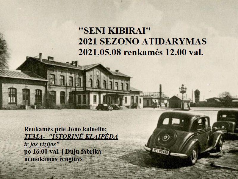 Send kibirai istoriniai automobiliai Klaipėda