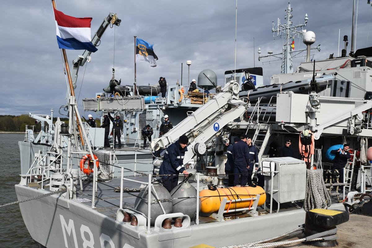 nato kariniai laivai Klaipėda