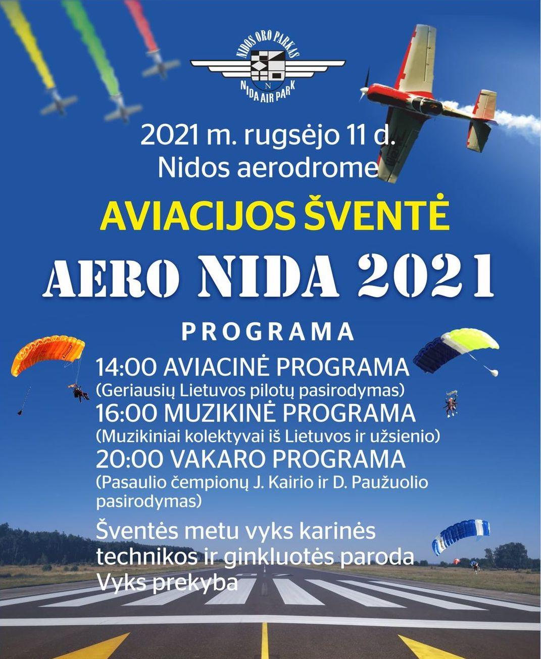 nida aero 2021