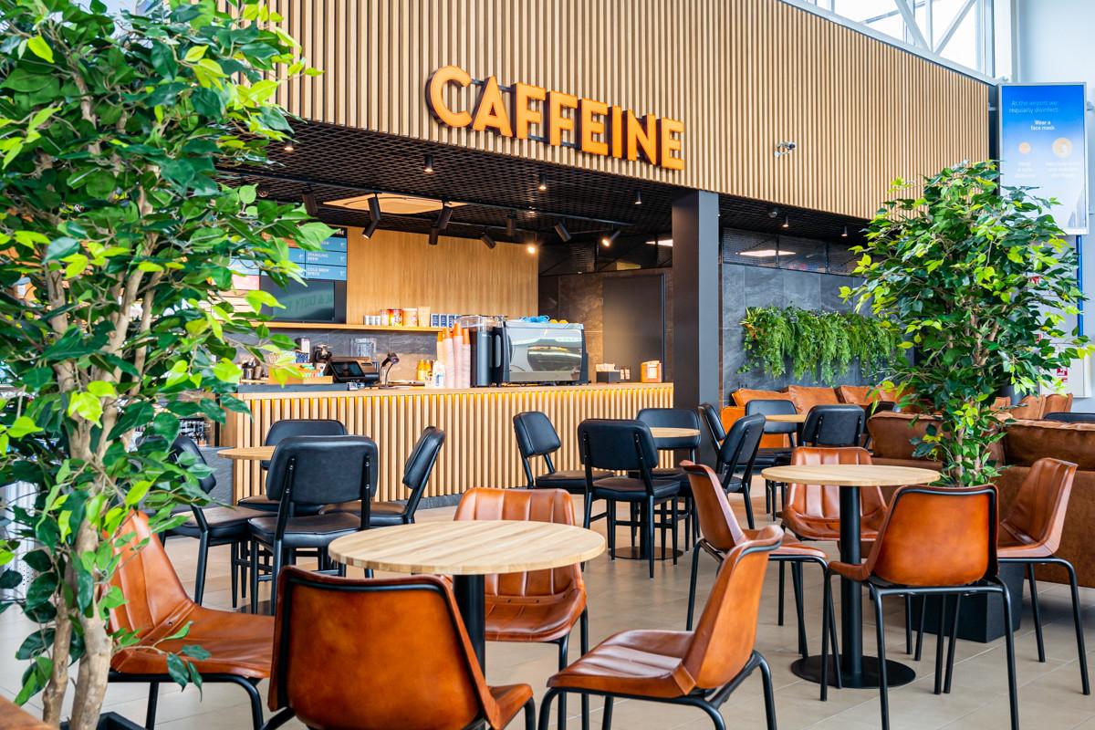 palangos oro uostas caffeine kavinė