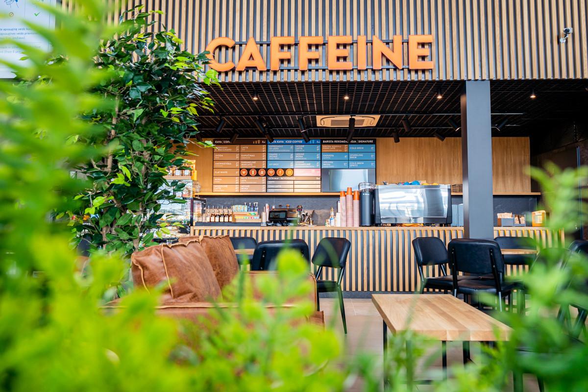 Planagos oro uostas Caffeine kavinė