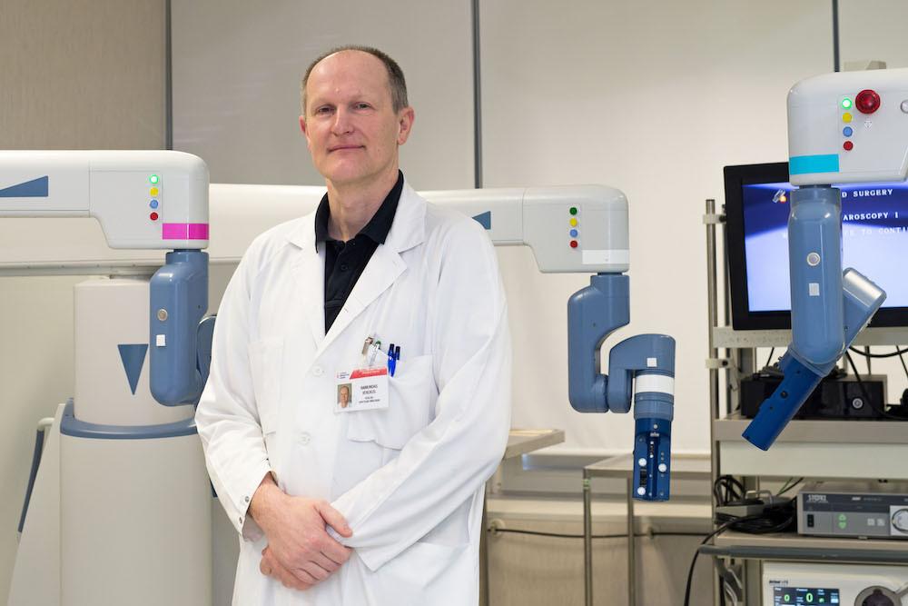 ligoninės Urologijos skyriaus vedėjas  Raimundas Venckus