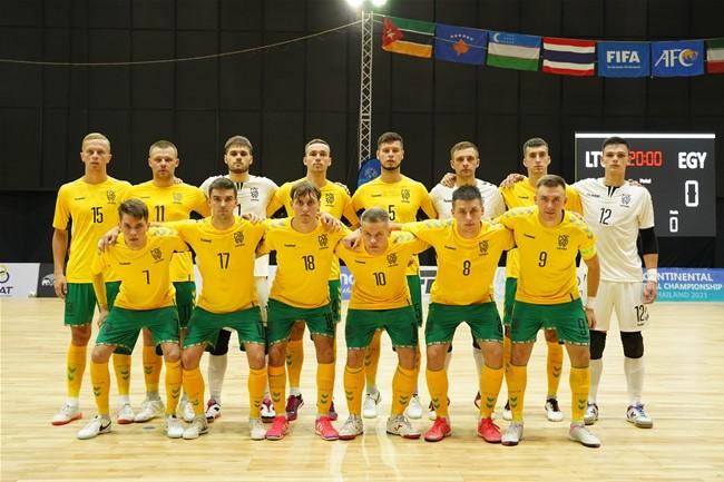 futsal pasaulio čempionatas lietuvos rinktinė