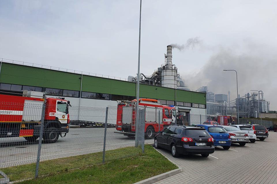Klaipėdos mediena sprogimas