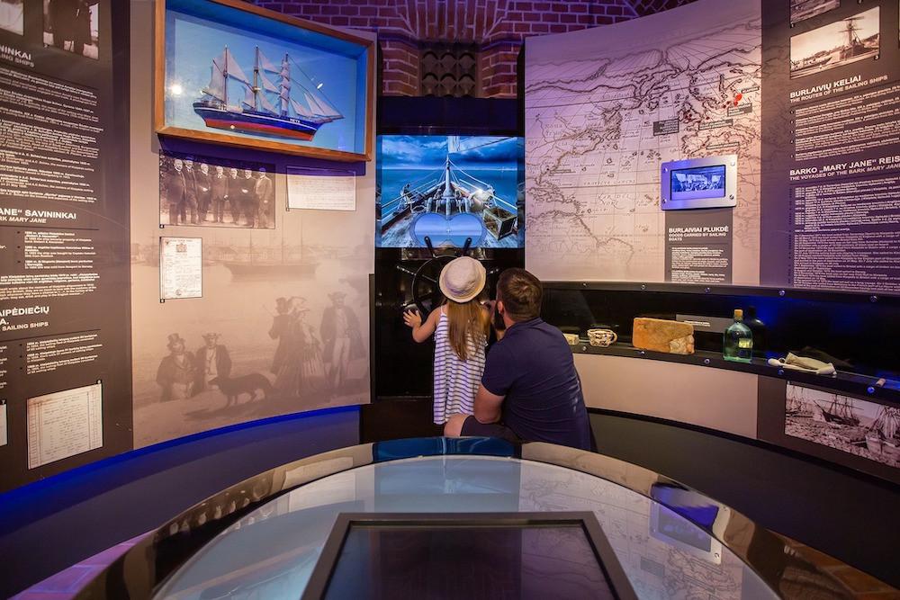 Lietuvos jūrų muziejus ekspozicija