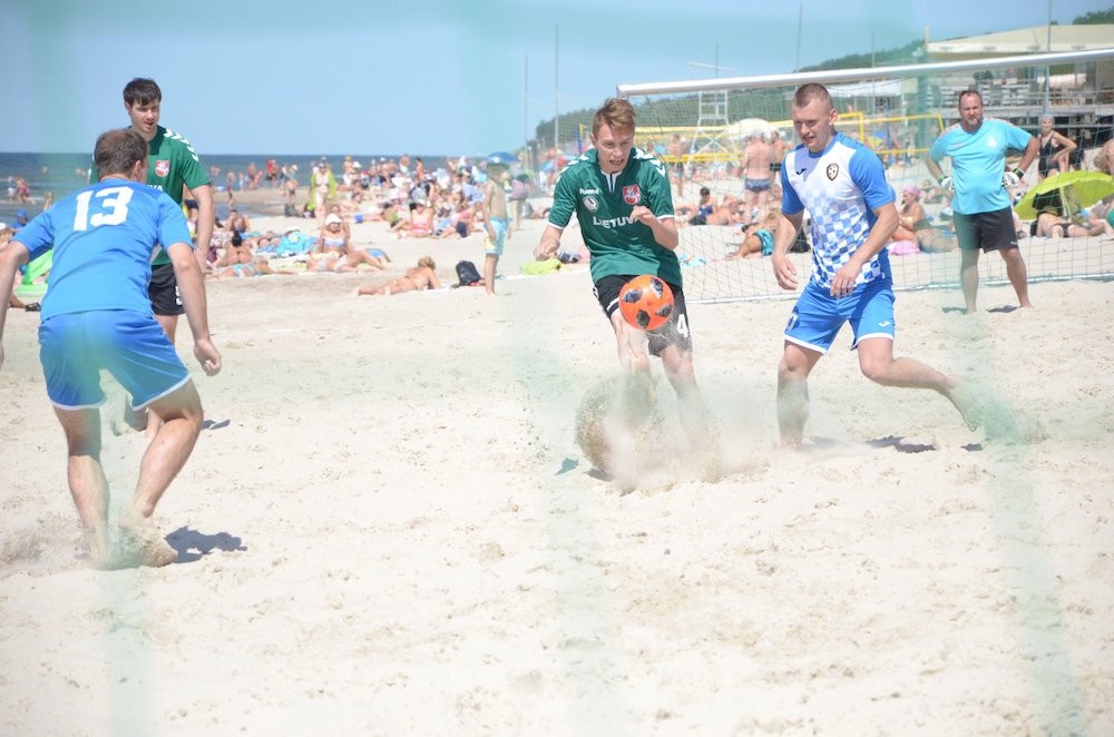 paplūdimio futbolo turners klaipėda
