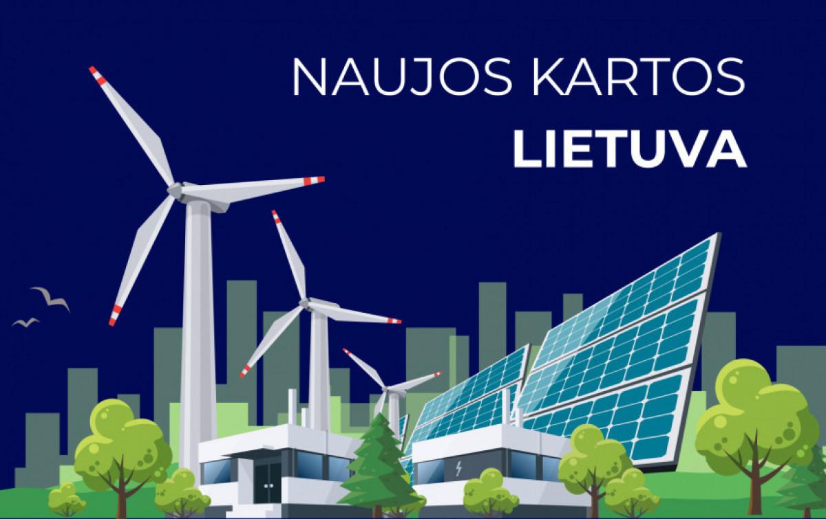 Lietuvos žaliąjai pertvarkai ir skaitmeninei transformacijai žadama 2,225 mlrd. eurų dotacijų