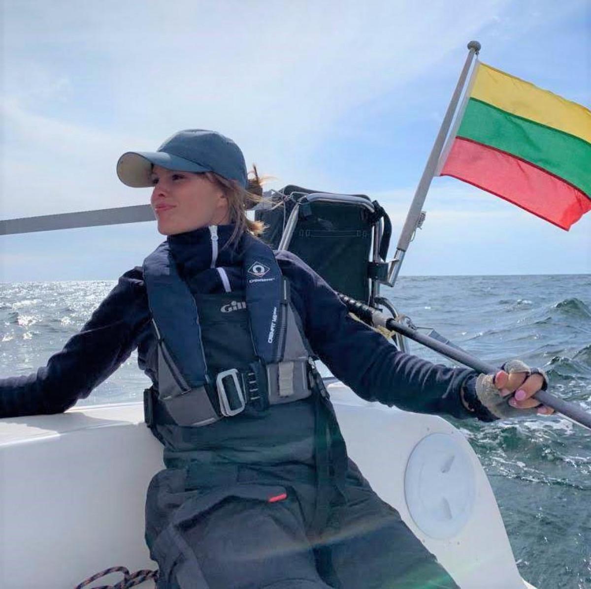 Veržli KU jūrų hidrologijos magistrantė - puikus pavyzdys merginoms