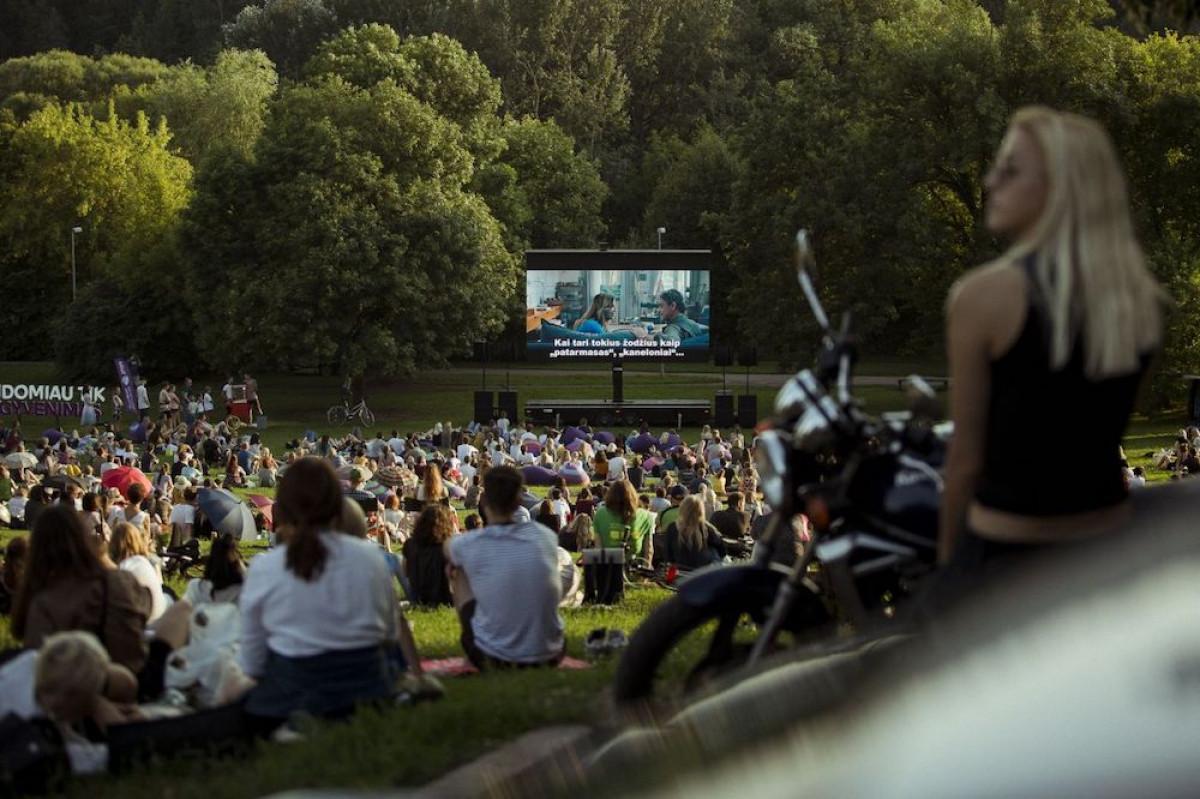 Nemokami filmų seansai po atviru dangumi atvyks į Klaipėdos kraštą