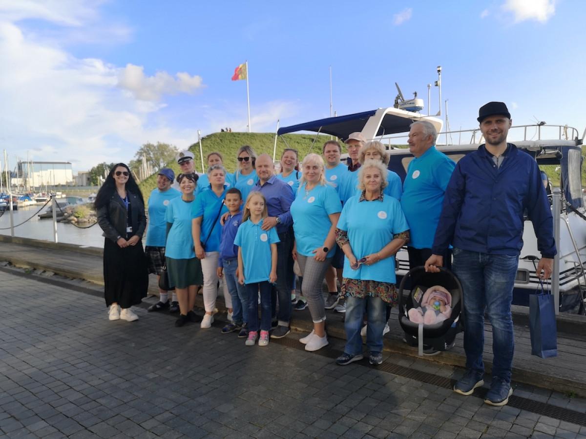 Klaipėdos uostas miestiečiams pristatytas nauju rakursu