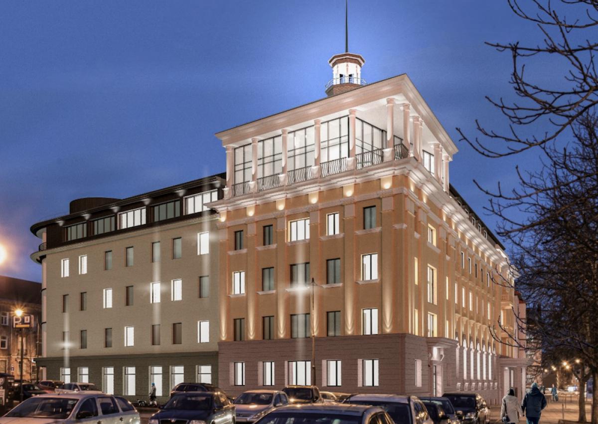 """Swedbank"" skolina 5 mln. eurų ""Victoria Hotel Klaipėda"" vystymui"