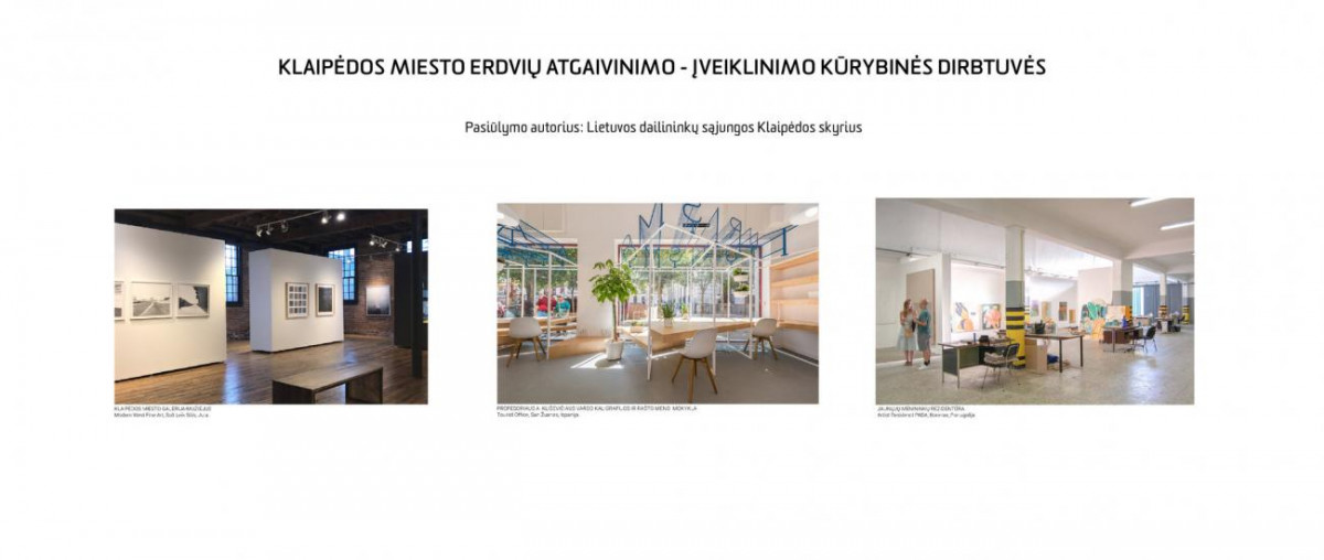 Klaipėdos centrinio pašto pastato įveiklinimui siūloma idėja įrengti galeriją - muziejų