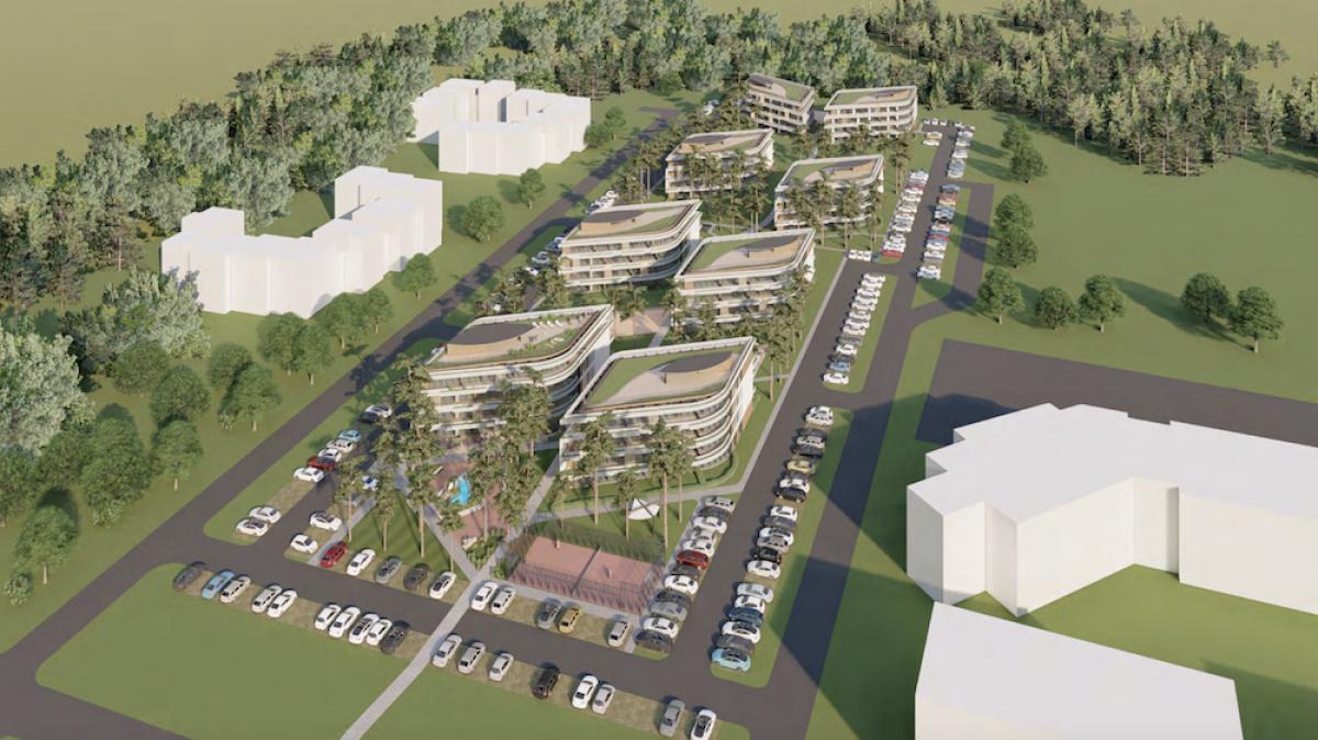 Šventojoje planuoja daugiabučių kvartalą su 290 butų