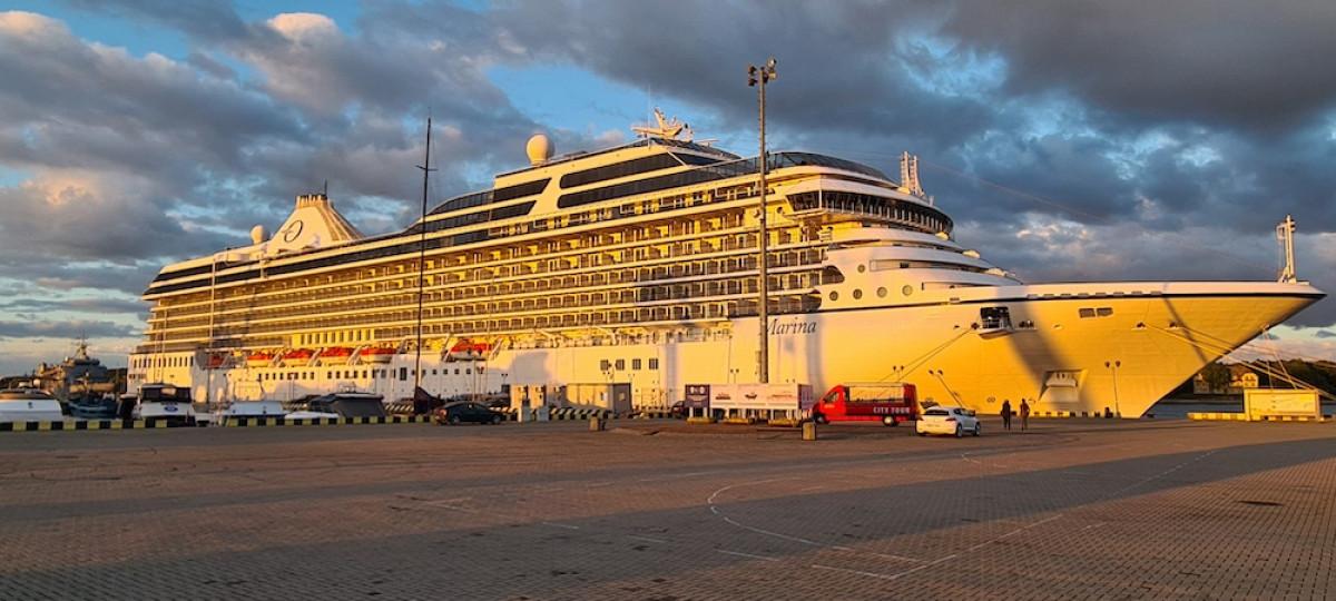 Klaipėdos uoste – ypatingas svečias
