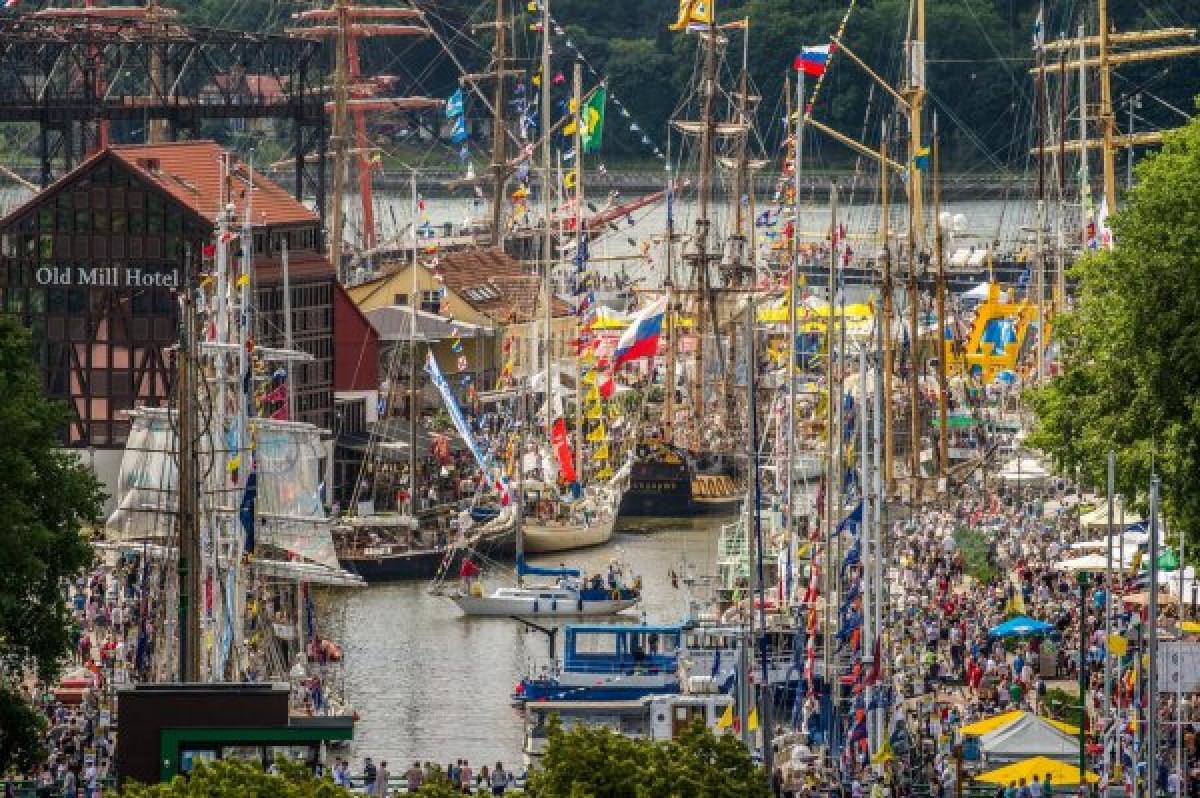 """""""The Tall Ships Races"""" ir """"Europiada"""" į Klaipėdą sugrįš"""